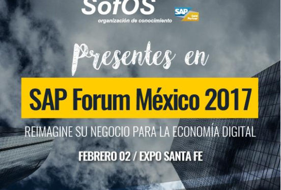 SAP Forum Transformacion Digital México SofOscorp